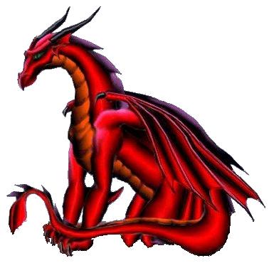 Image à gratter Dragonrouge